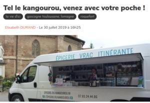 Le Journal du Gers du 30/07/19
